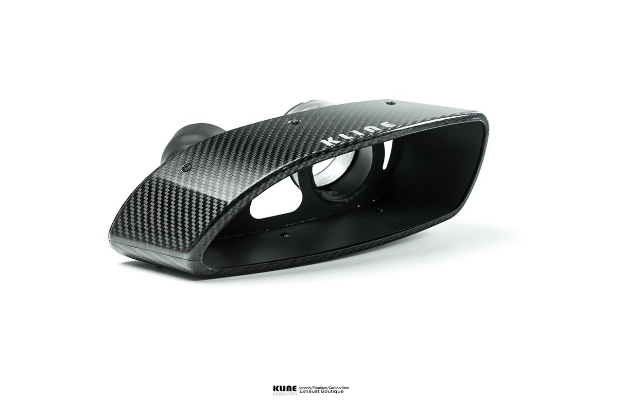 Porsche 991 Turbo Carbon Tips