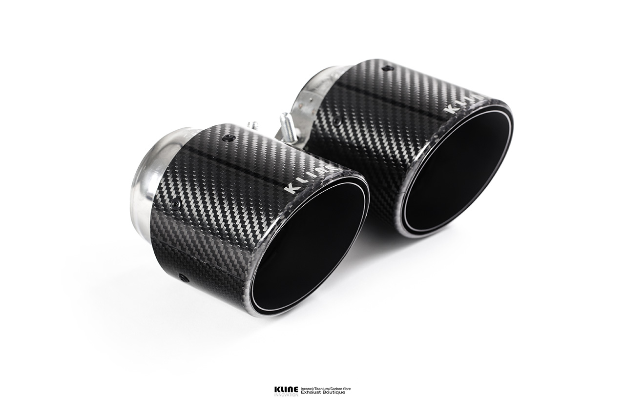Porsche 991.2 Carrera Turbo Carbon Tips