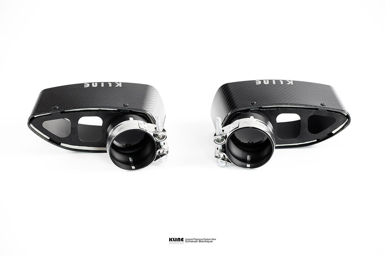 Porsche 997 Turbo Carbon Fiber Tips