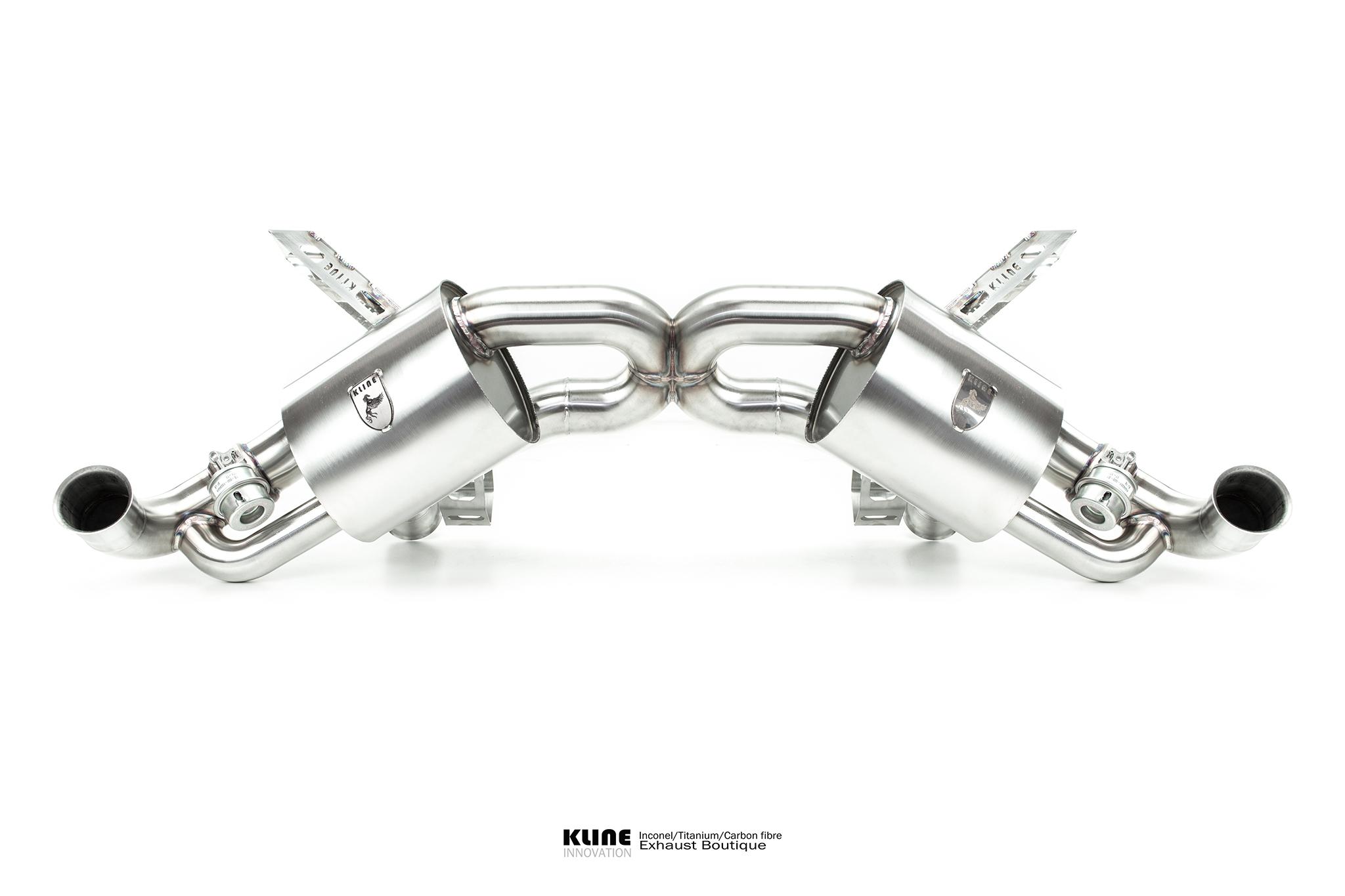 Gallardo Spyder Exhausts Kline Innovation