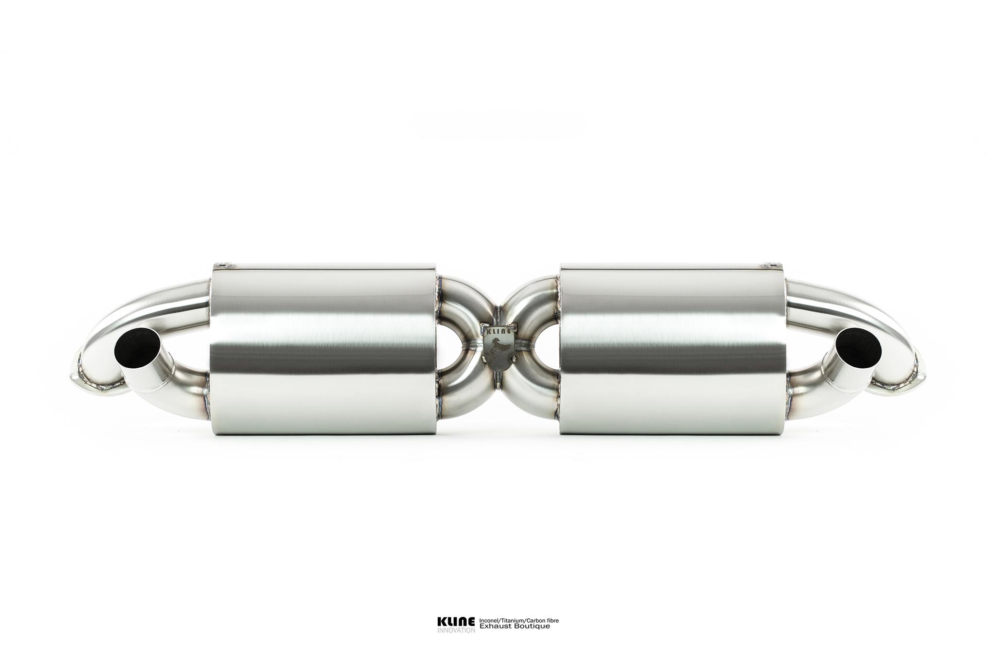 Porsche 996 Turbo Exhaust • Kline Innovation