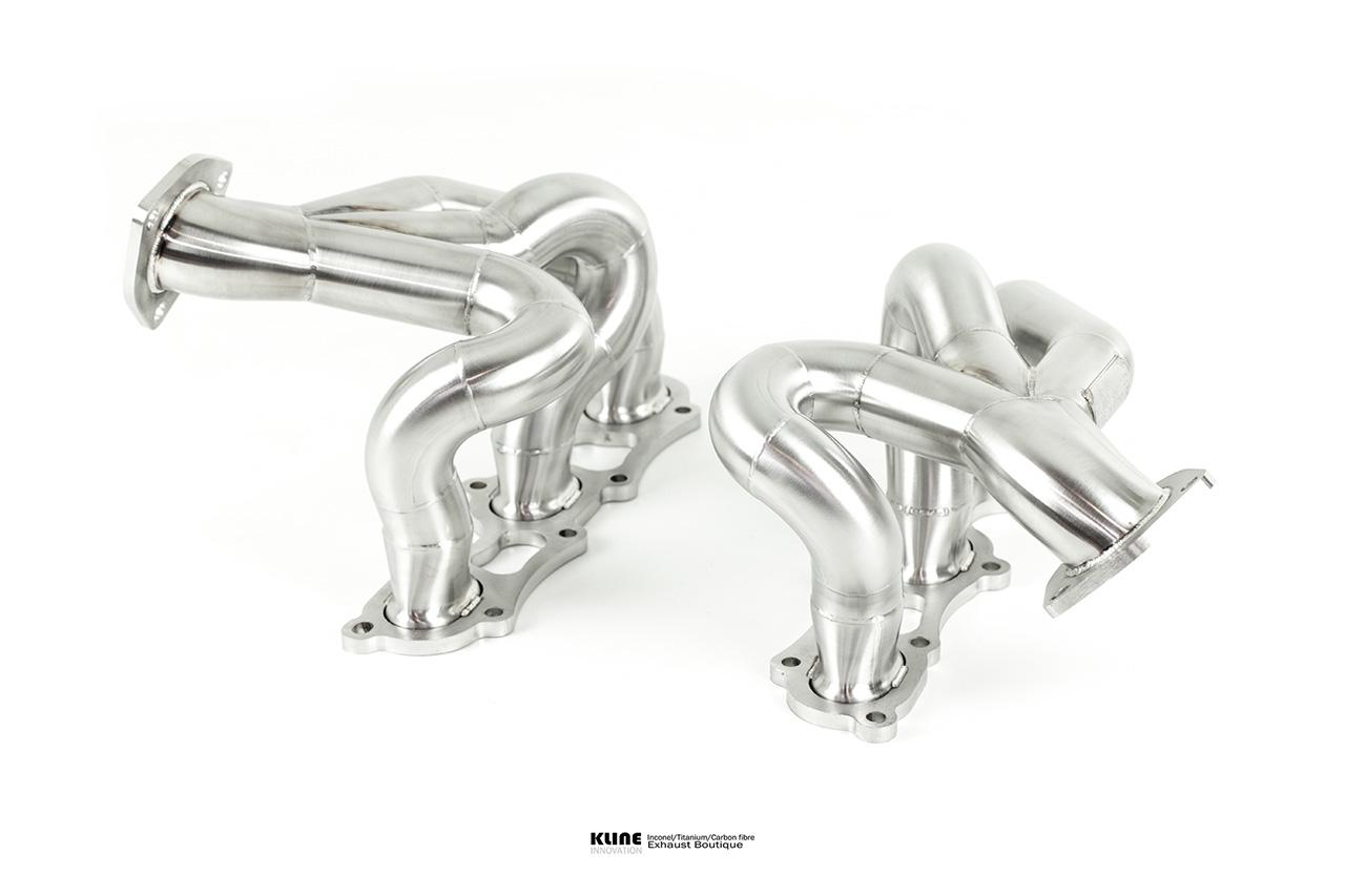 Porsche 991 Turbo Manifolds