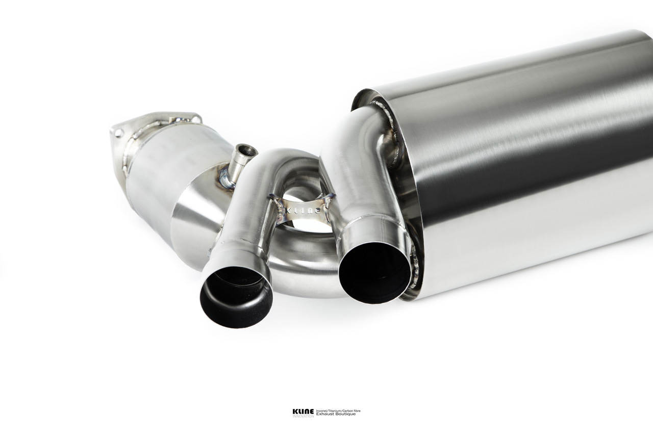 Porsche 991 Turbo Exclusive Inconel Exhaust