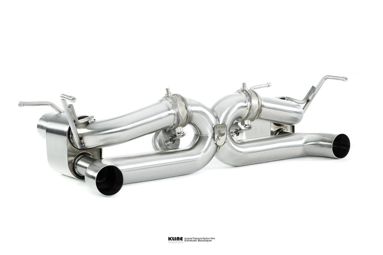 Ferrari 488 Valvetronic Exhaust System