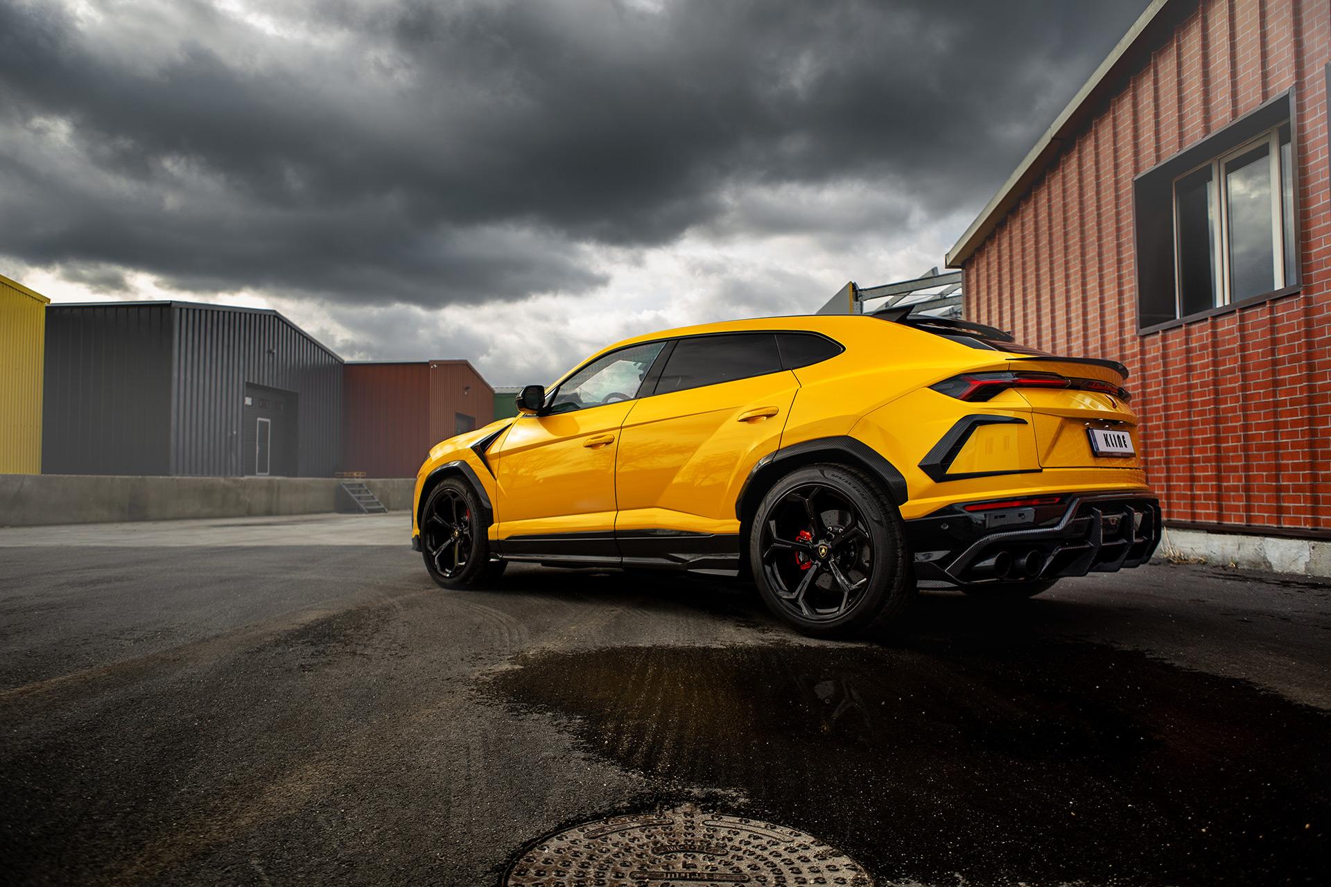 Lamborghini Urus Valvetronic Inconel Exhaust System