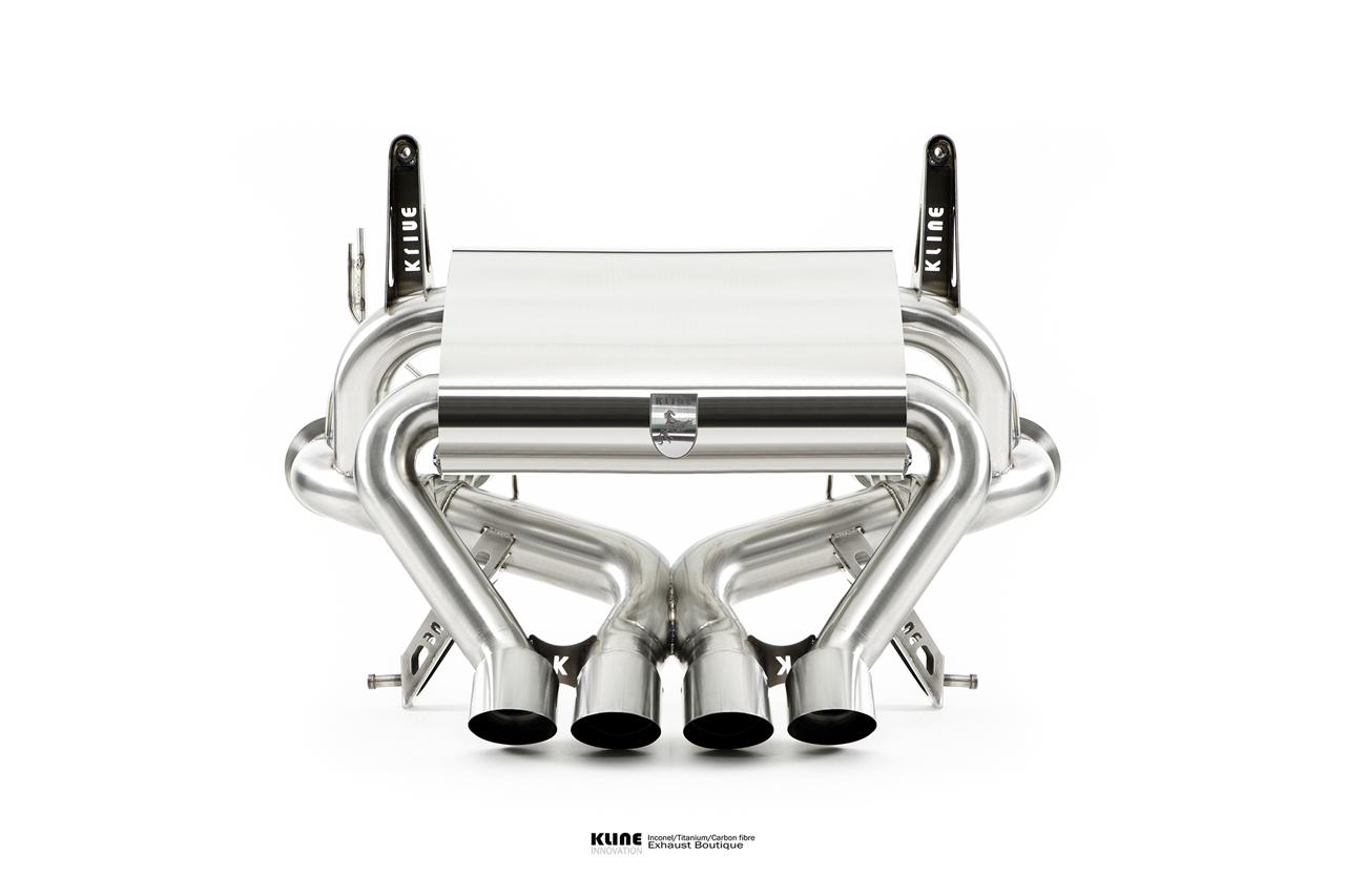 Lamborghini Aventador Superveloce Inconel Exhaust System