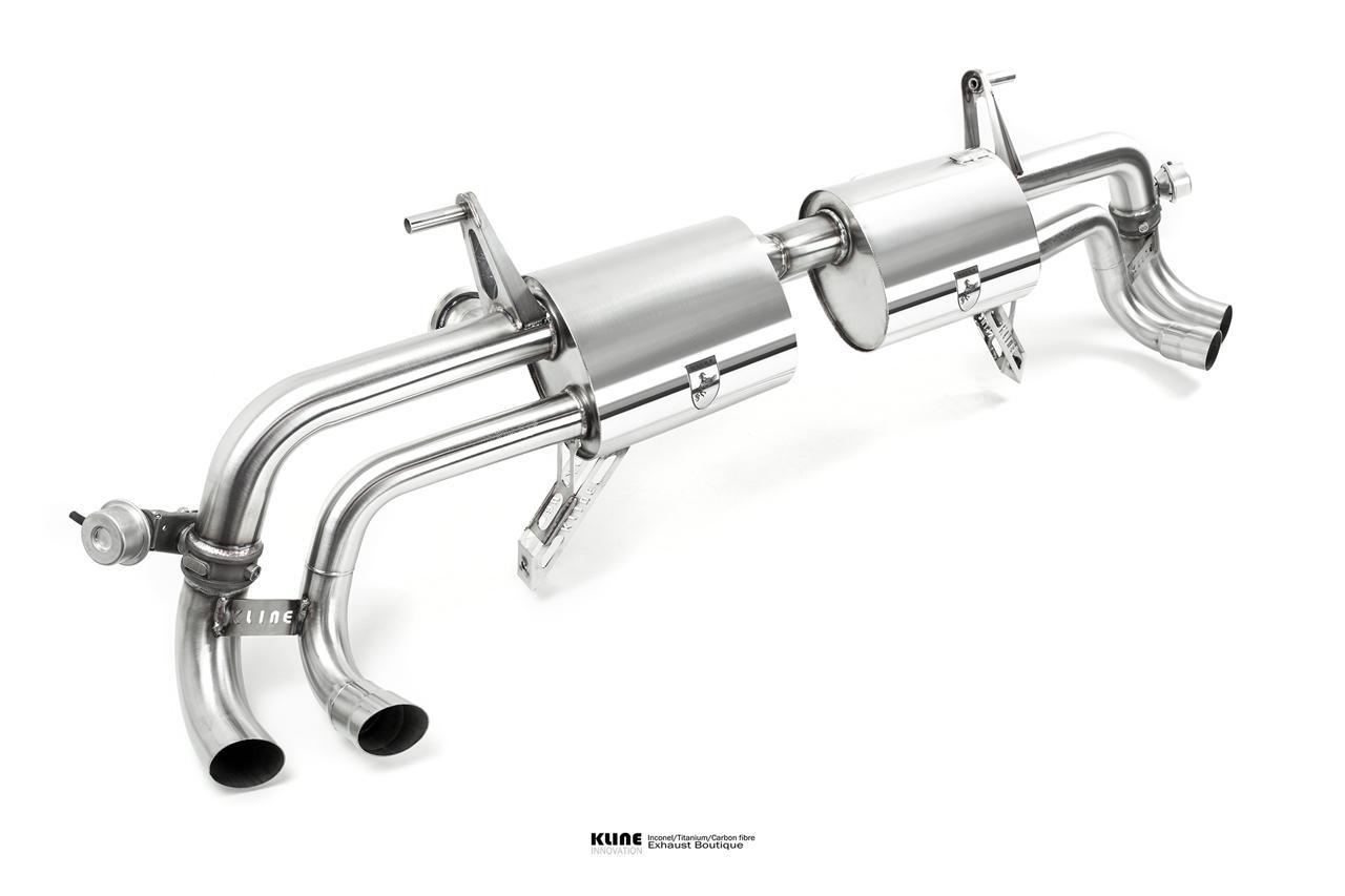 Lamborghini Huracan Inconel Exhaust System
