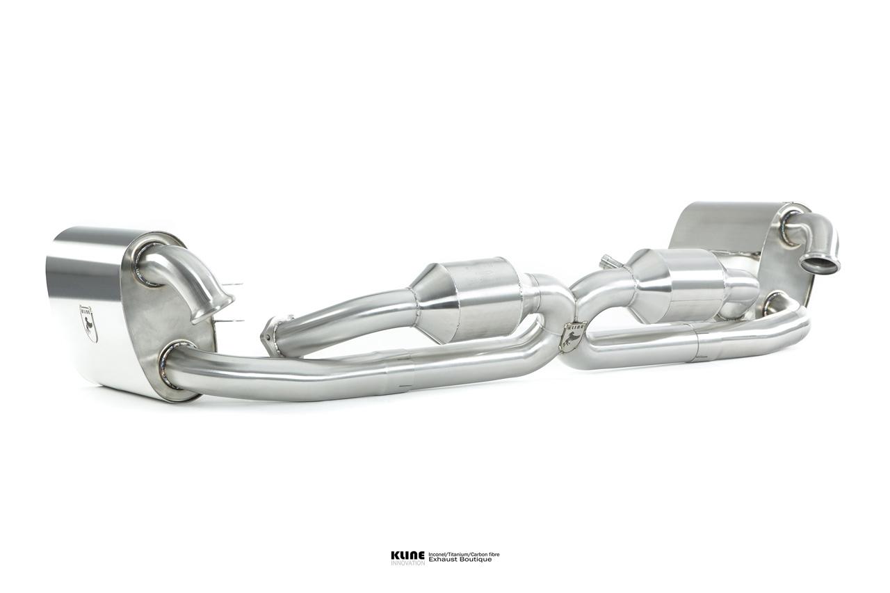 Porsche 996 Carrera Inconel Exhaust System
