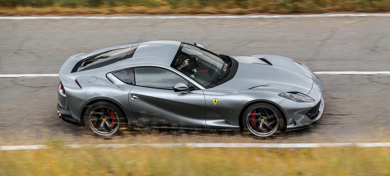 Ferrari 812 Superfast Inconel Exhaust System