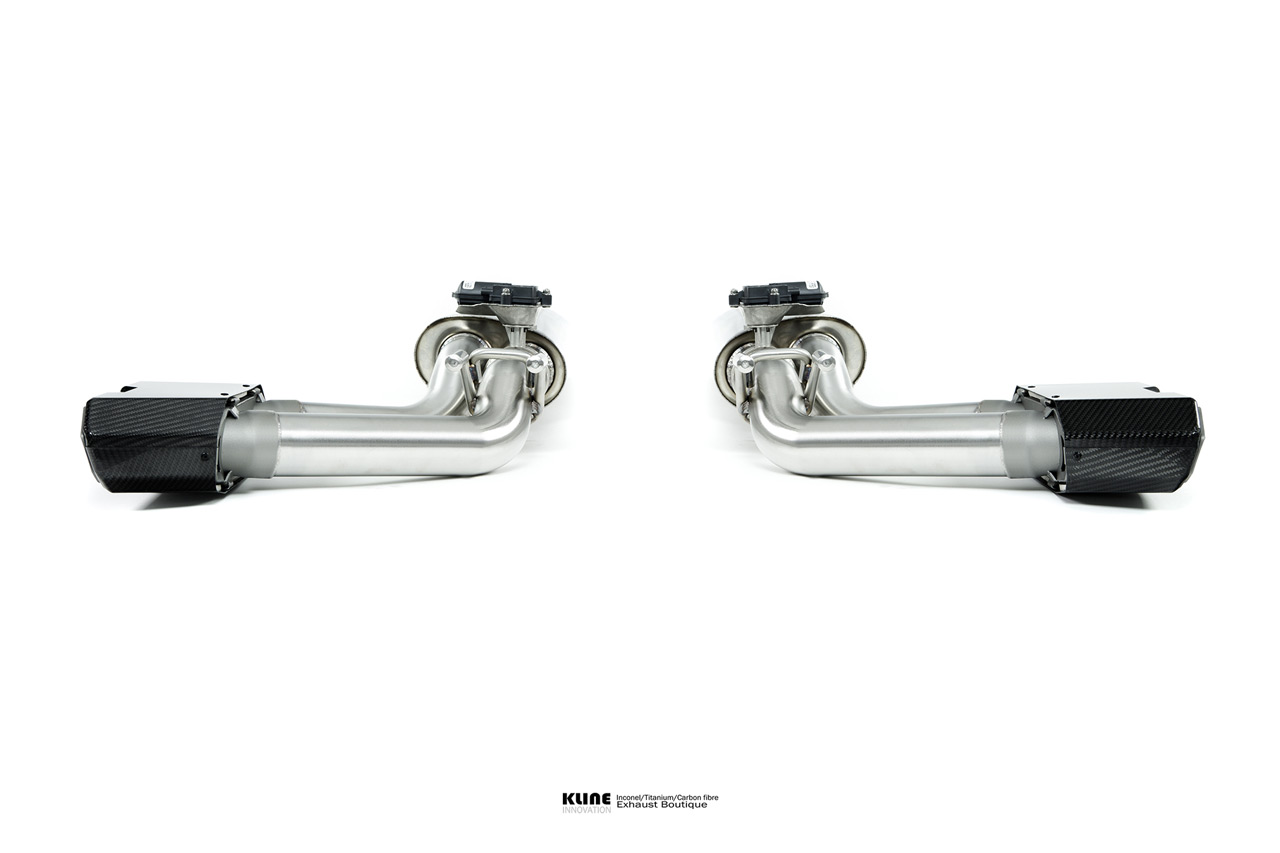 Mercedes G63 AMG 2019 Inconel 625 Exhaust System with Carbon Fiber Tips
