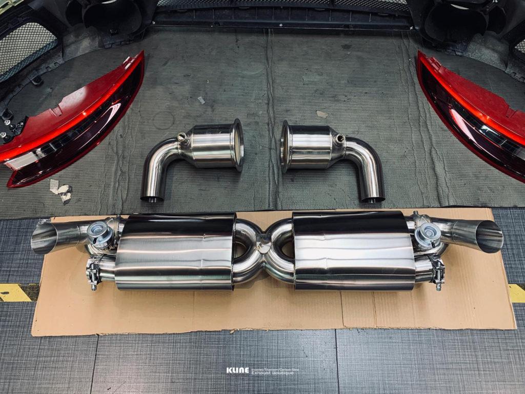 Porsche 991 GT2RS Kline Inconel Exhaust