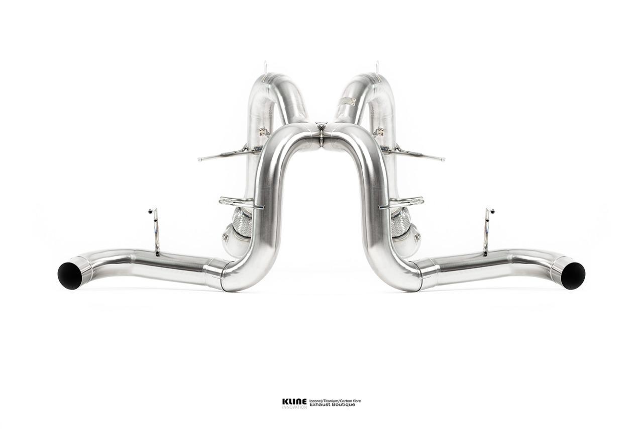 McLaren 570s Inconel Exhaust