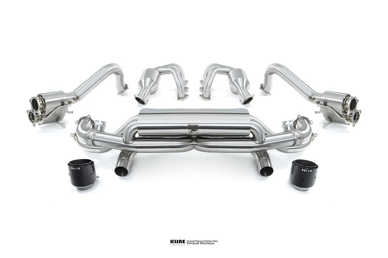Porsche 718 Cayman GT4 Valvetronic Inconel Exhaust System
