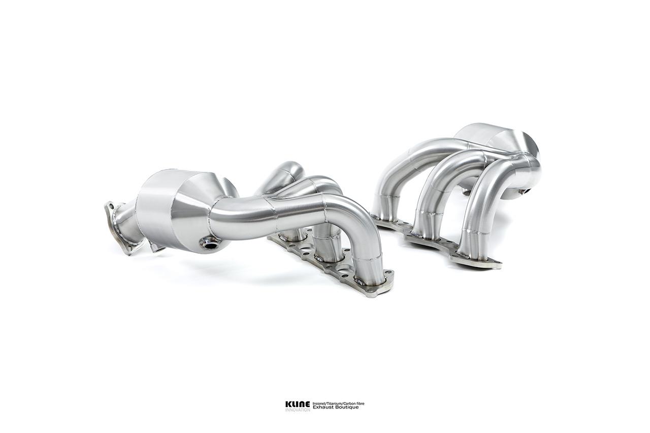 Porsche 718 Cayman GT4 Manifolds