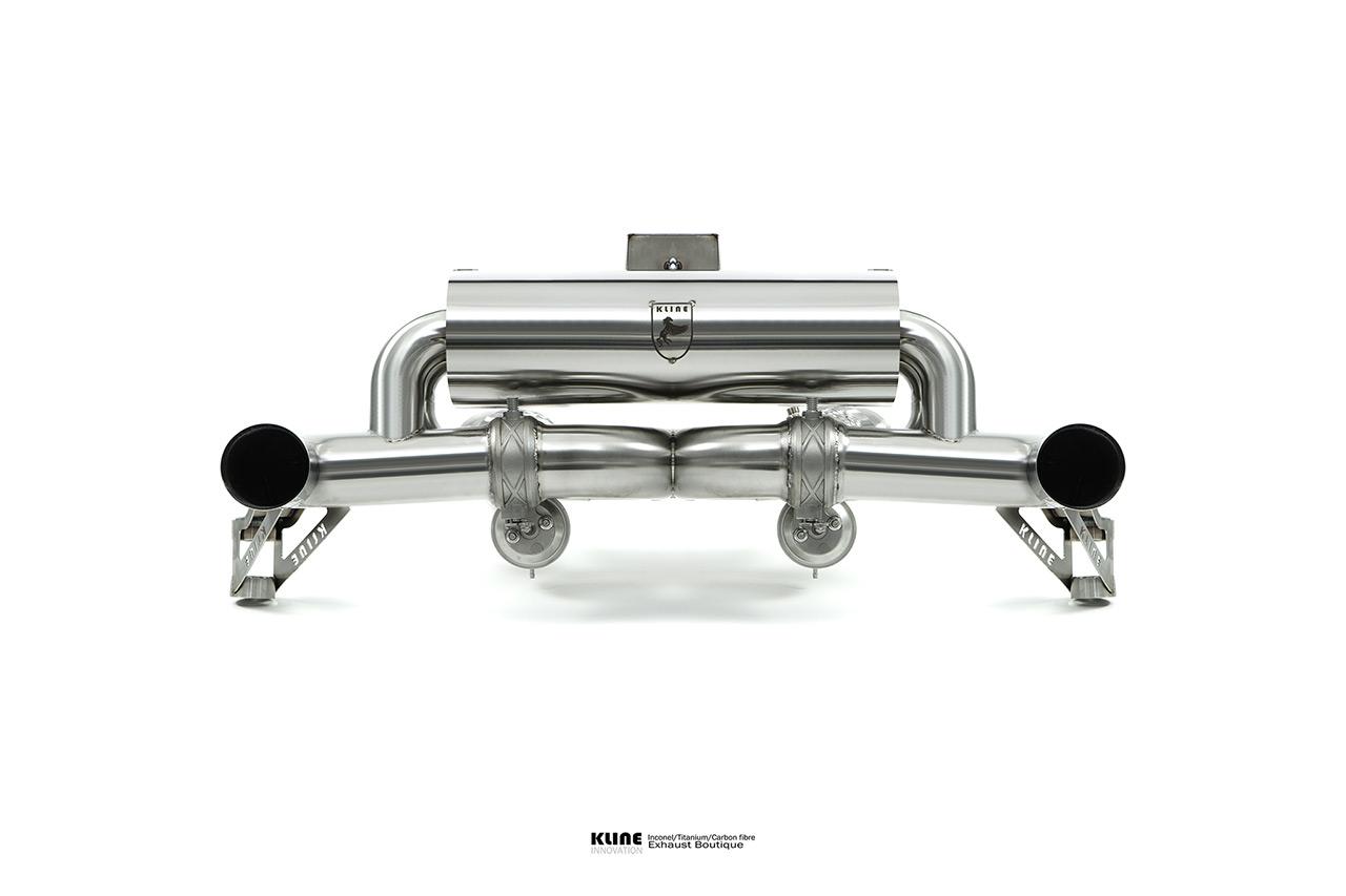 Porsche Carrera GT Inconel Exhaust System