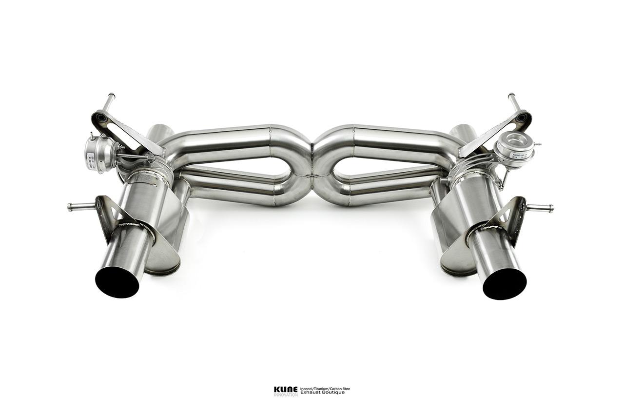 Ferrari F8 Tributo Valvetronic Exhaust System