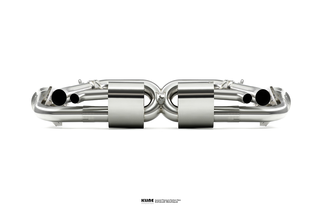 Porsche 992 TURBO - Valvetronic rear system