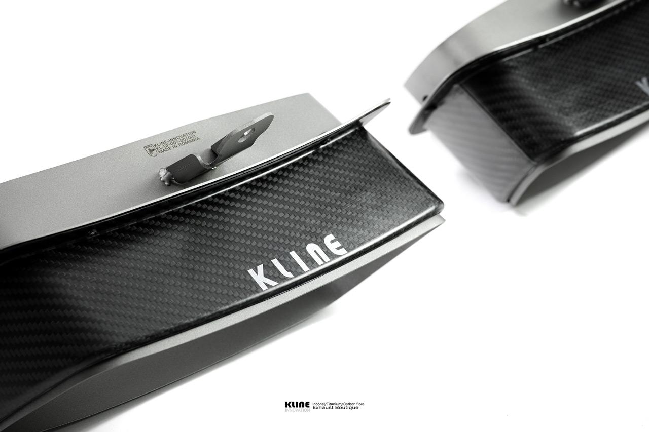 Porsche 992 Turbo Carbon Fiber Tips