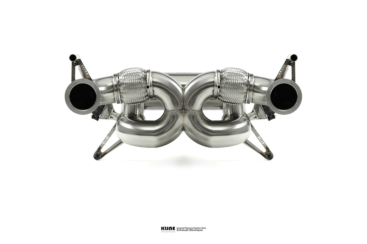 McLaren 765LT Rear system